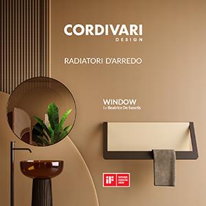 Window by Cordivari: il radiatore dalla doppia funzionalità