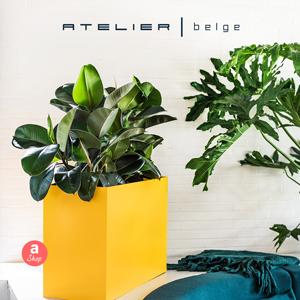 Fioriere in alluminio Console per interni e giardino by Atelier Belge
