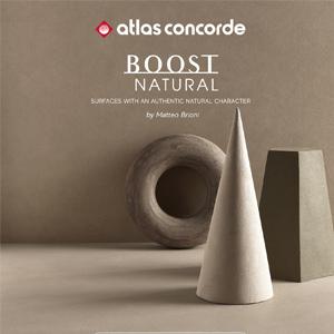 Superfici naturali ispirate alla terra cruda: Ceramiche Atlas Concorde Boost Natural
