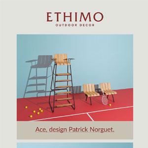 Ethimo Ace: inediti arredi per lo sport outdoor