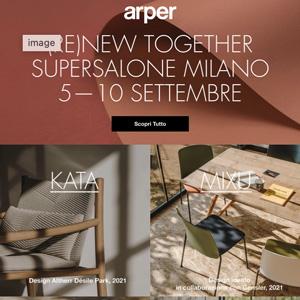 Nuove collezioni Arper presentate al supersalone 2021