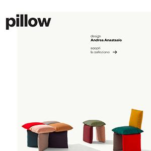 Et al. collezione Pillow: il pouf autonomo, libero e versatile