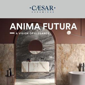 Ceramiche Caesar, Anima Futura: il look marmo è eleganza senza tempo