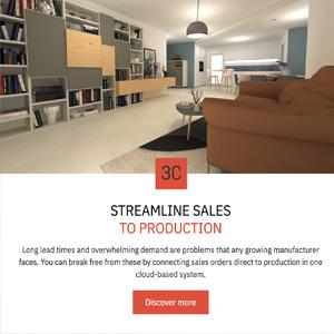 3CAD: un'unica piattaforma software per collegare le vendite alla produzione