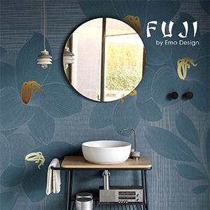 Fuji by Scarabeo Ceramiche: la consolle da bagno essenziale, sobria e versatile