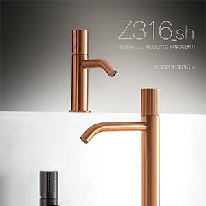 Z316_sh by Rubinetterie Zazzeri: fascino ed eleganza delle nuove maniglie