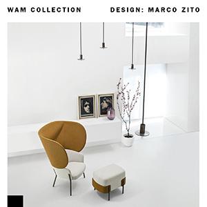 Sedute WAM by Bross: combinazioni uniche, adatte a qualunque stile e ambiente